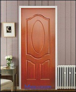 Cửa gỗ công nghiệp sử dụng làm cửa thông phòng, cửa vệ sinh.. với chất liệu bề mặt bằng MDF hoặc HDF. Cửa gỗ công nghiệp phủ Veneer hoặc Laminate ...