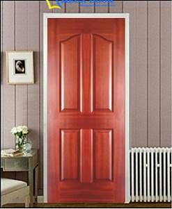 Mẫu cửa phòng ngủ bằng gỗ