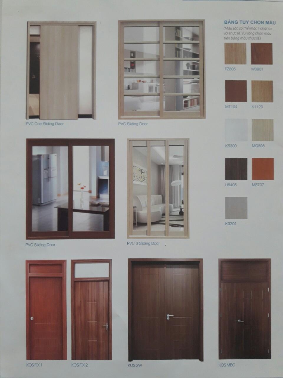 Mẫu cửa phòng ngủ đẹp 2020