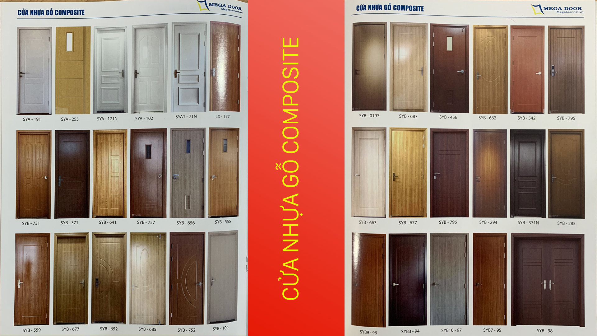 cửa phòng ngủ nhựa giả gỗ