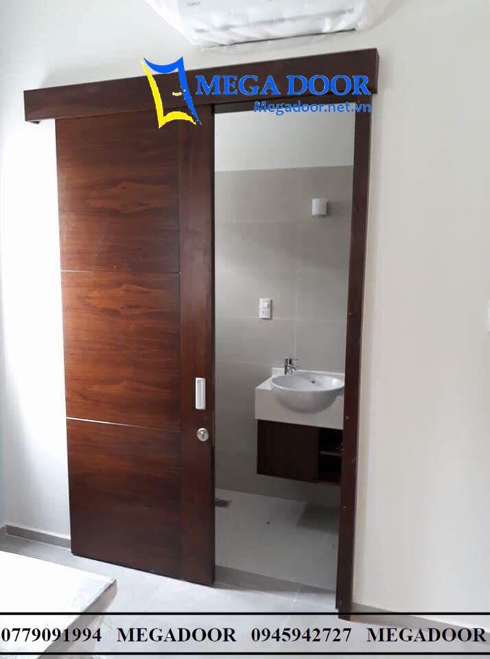 Cửa Lùa cửa gỗ công nghiệp MDF Melamine