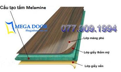 Cửa gỗ MDF Melamine là gì